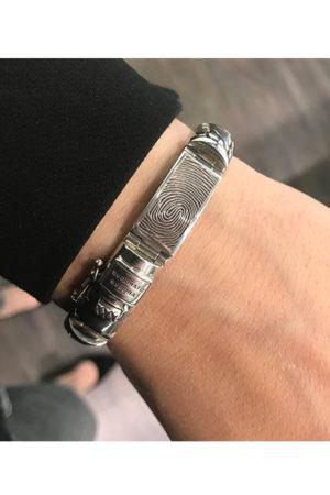 BTB armband met vingerafdruk en asvulling BAX-17020
