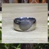 Ring met vingerafdruk BAX-17002 close up