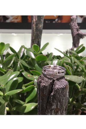 Ring met vingerafdruk BAX-17024