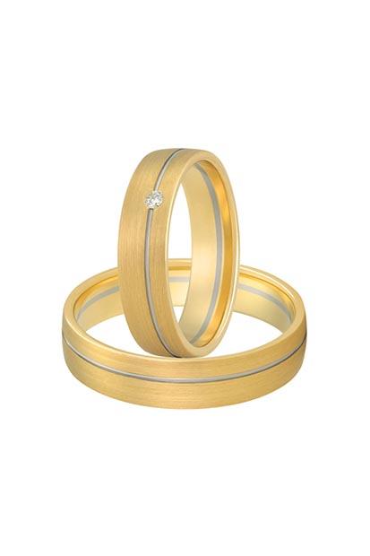 Aller Spanninga trouwringen model 179