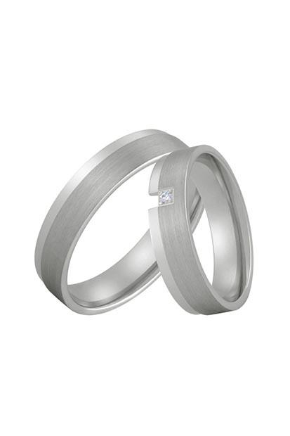 Aller Spanninga trouwringen model 194