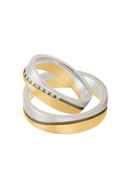 Aller Spanninga trouwringen model 384