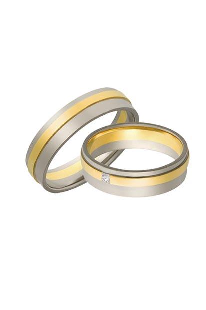Aller Spanninga trouwringen model 393