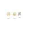 Blush oorknoppen met zirkonia - 7128YZI
