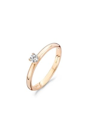 Blush ring met zirkonia - 1112RZI