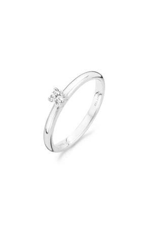 Blush ring met zirkonia - 1112WZI
