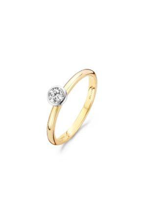 Blush ring met zirkonia - 1124BZI