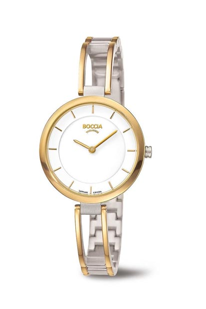 BOCCIA TITANIUM dames horloge - 3264-03