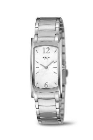 Boccia Titanium dames horloge - 3293-01
