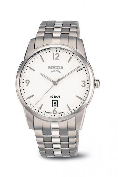 Boccia Titanium heren horloge - 3632-01