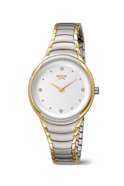 Boccia Titanium dames horloge - 3276-10