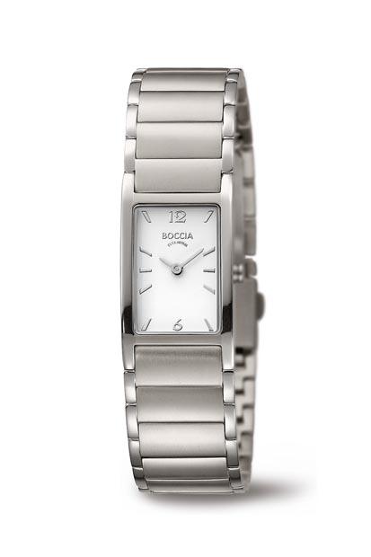 Boccia Titanium dames horloge - 3284-01