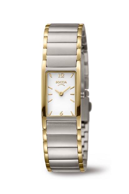 Boccia Titanium dames horloge - 3284-02