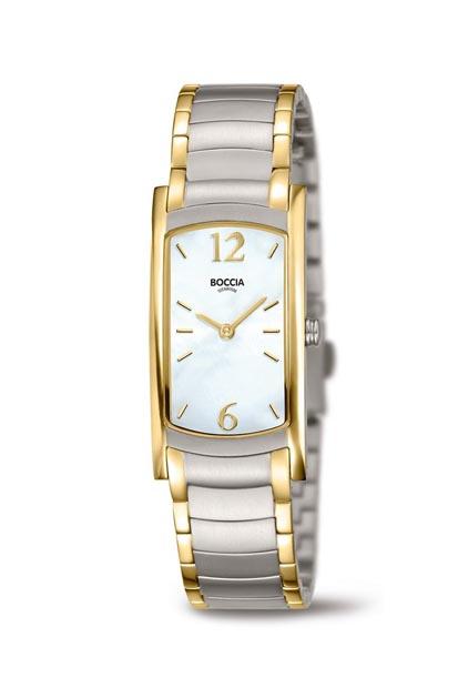 Boccia Titanium dames horloge - 3293-02