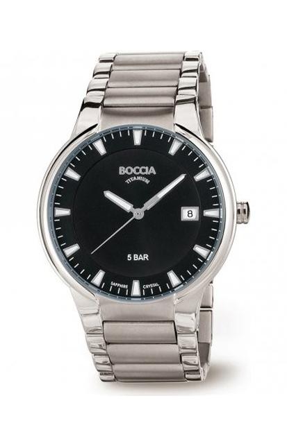 Boccia Titanium heren horloge - 3629-01
