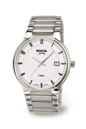 Boccia Titanium heren horloge - 3629-02