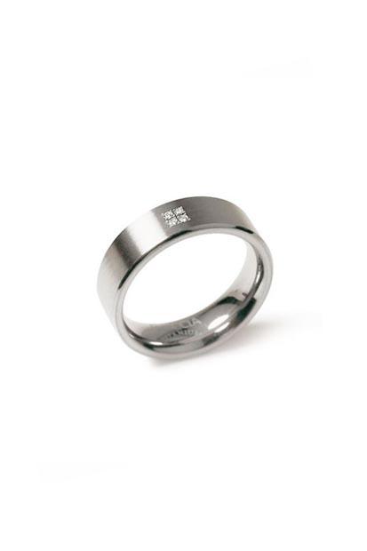 Boccia Titanium ring - 0101-12