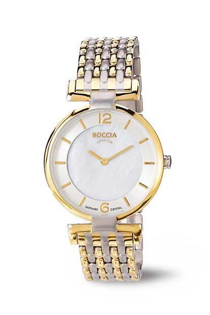 Boccia Titanium dames horloge 3238-04