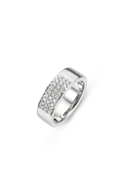 14 krt Briljant ring witgoud bezet met 0.40 ct diamant - 657070003