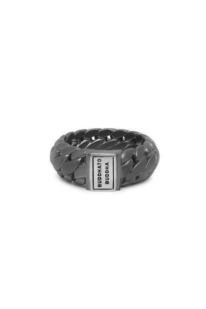 Buddha to Buddha Ben Small ring Black Rhodium Silver - 542BRS