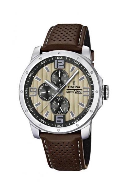 Festina heren horloge - F16585/6