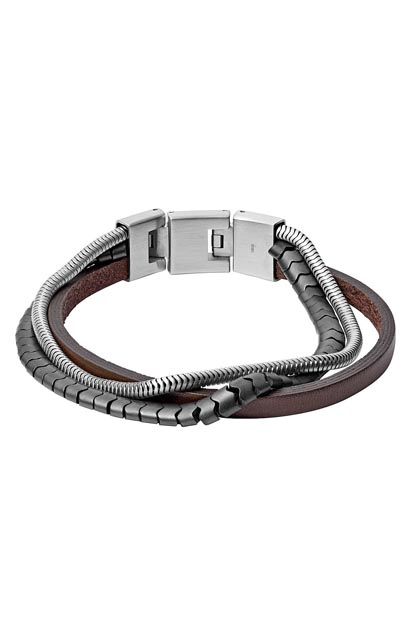 Fossil heren armband - JF03178040