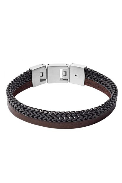 Fossil heren armband - JF03180040