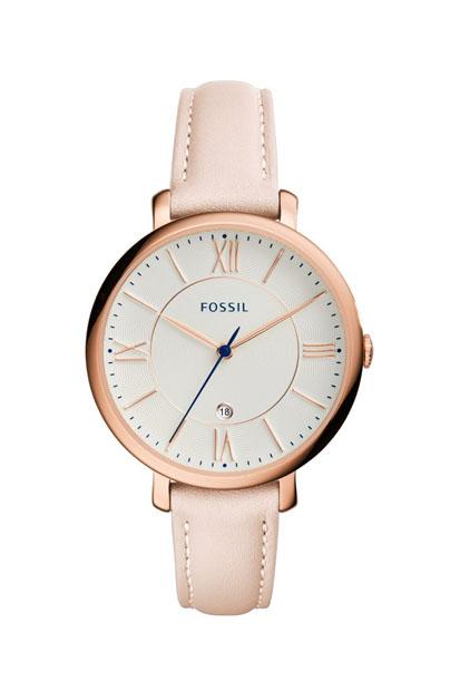 Fossil Jaqueline dames horloge ES3988