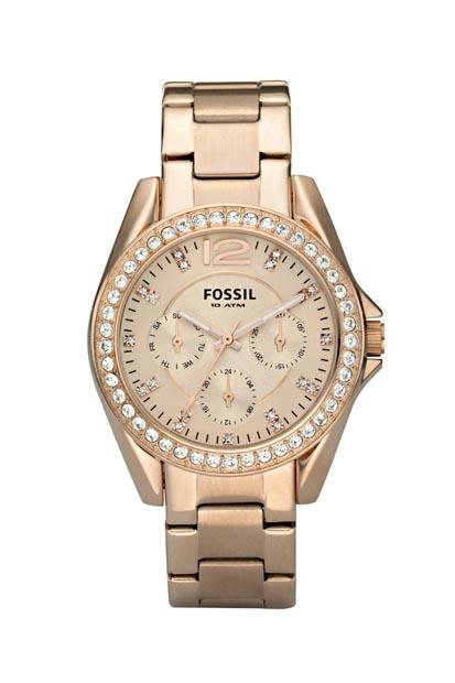 Fossil Riley dames horloge ES2811
