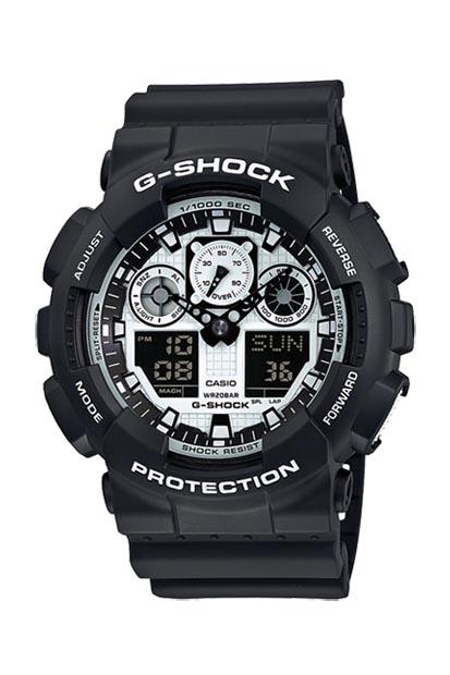 G-Shock heren horloge - GA-100BW-1AER