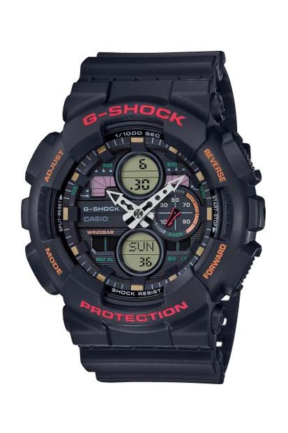 G-Shock heren horloge - GA-140-1A4ER