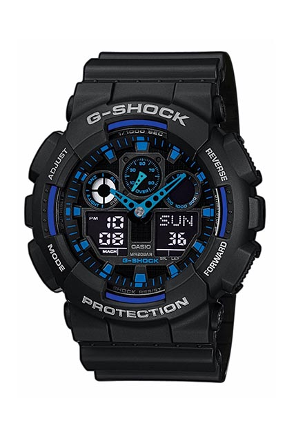 G-SHOCK Original heren horloge GA-100-1A2ER