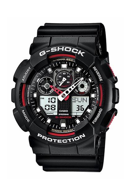 G-SHOCK Original heren horloge GA-100-1A4ER