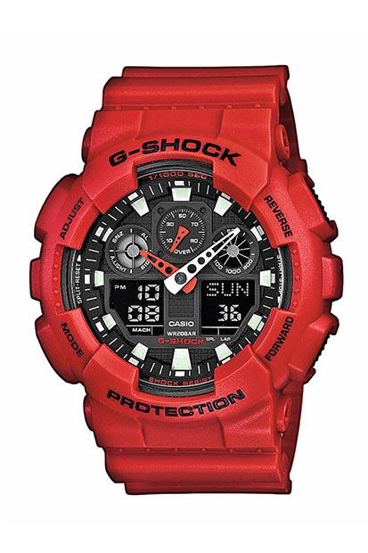 G-SHOCK Original heren horloge GA-100B-4AER