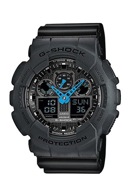 G-SHOCK heren horloge GA-100C-8AER