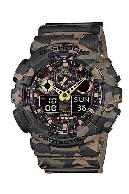 G-SHOCK Classic Camouflage heren horloge GA-100CM-5AER