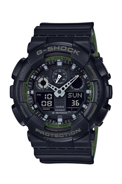 G-Shock Original heren horloge GA-100L-1AER