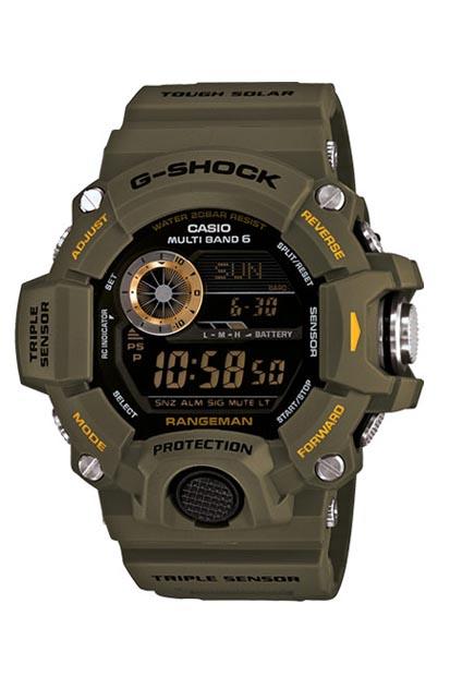 G-Shock Rangeman heren horloge - GW-9400-3ER