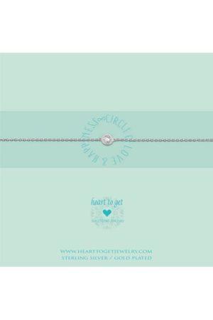 Heart to Get Circle armband B199CIZ14S
