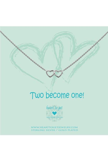 Heart to Get Double Heart ketting N40DHE12S