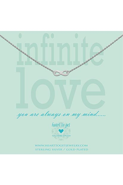 Heart to Get Infinity ketting N15INF11S