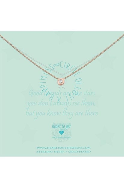 Heart to Get Circle ketting N196CIZ13R