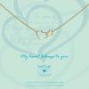 Heart to Get Heart ketting N244ENH15G