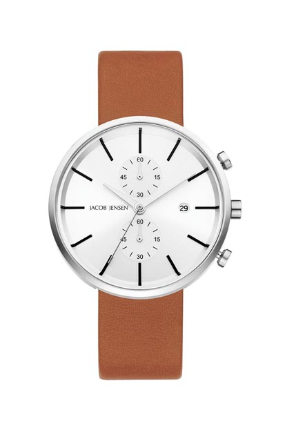 Jacob Jensen Linear heren horloge - 622