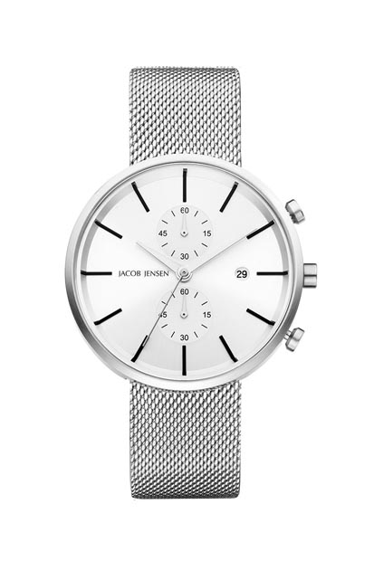 Jacob Jensen Linear heren horloge - 625