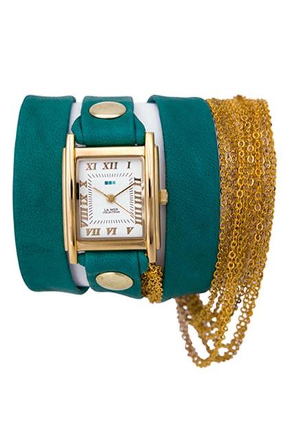 La Mer Collection dames horloge LMMULTICW1021TEAL