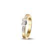 PAS Diamonds gouden ring bezet met 0.15 ct briljant - GD1632