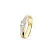 PAS Diamonds gouden ring bezet met 0.15 ct briljant - GD1812