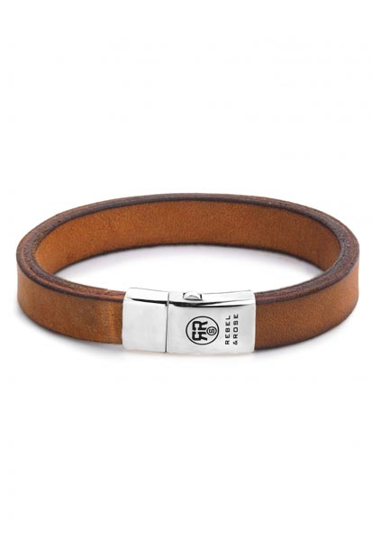 Rebel and Rose Vintage Cognac armband RR-L0045-S