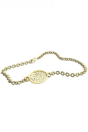 Royolz armband met vingerafdruk FPA 205 - goud